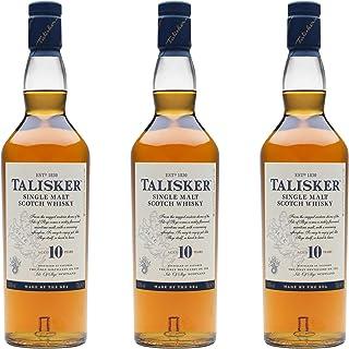 Talisker 10 Jahre, 3er, Single Malt, Schottland, Whisky, Scotch, Alkohol, Alkoholgetränk, Flasche, 45.8%, 700 ml, 672288