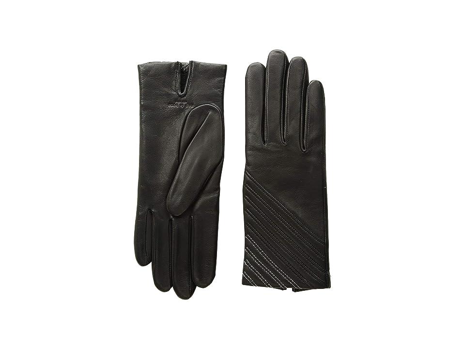 rag & bone Slant Gloves (Black 1) Extreme Cold Weather Gloves