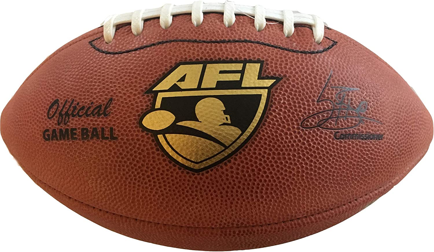 Spalding AFL Official Leather Game Ball Arena Football League 2016 Production White Lace Stripe MPN 727078l