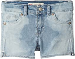 Best Coast Denim Shorty Shorts (Little Kids)