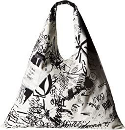 MM6 Maison Margiela Fragile Scribble Hobo