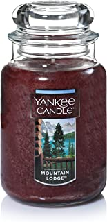 Yankee Candle Large Jar Candle, Mountain Lodge