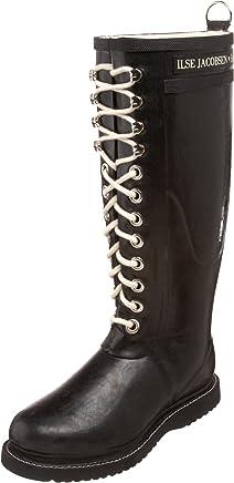 Isle Jacobsen Women's Rubber Wellington Boots : boots