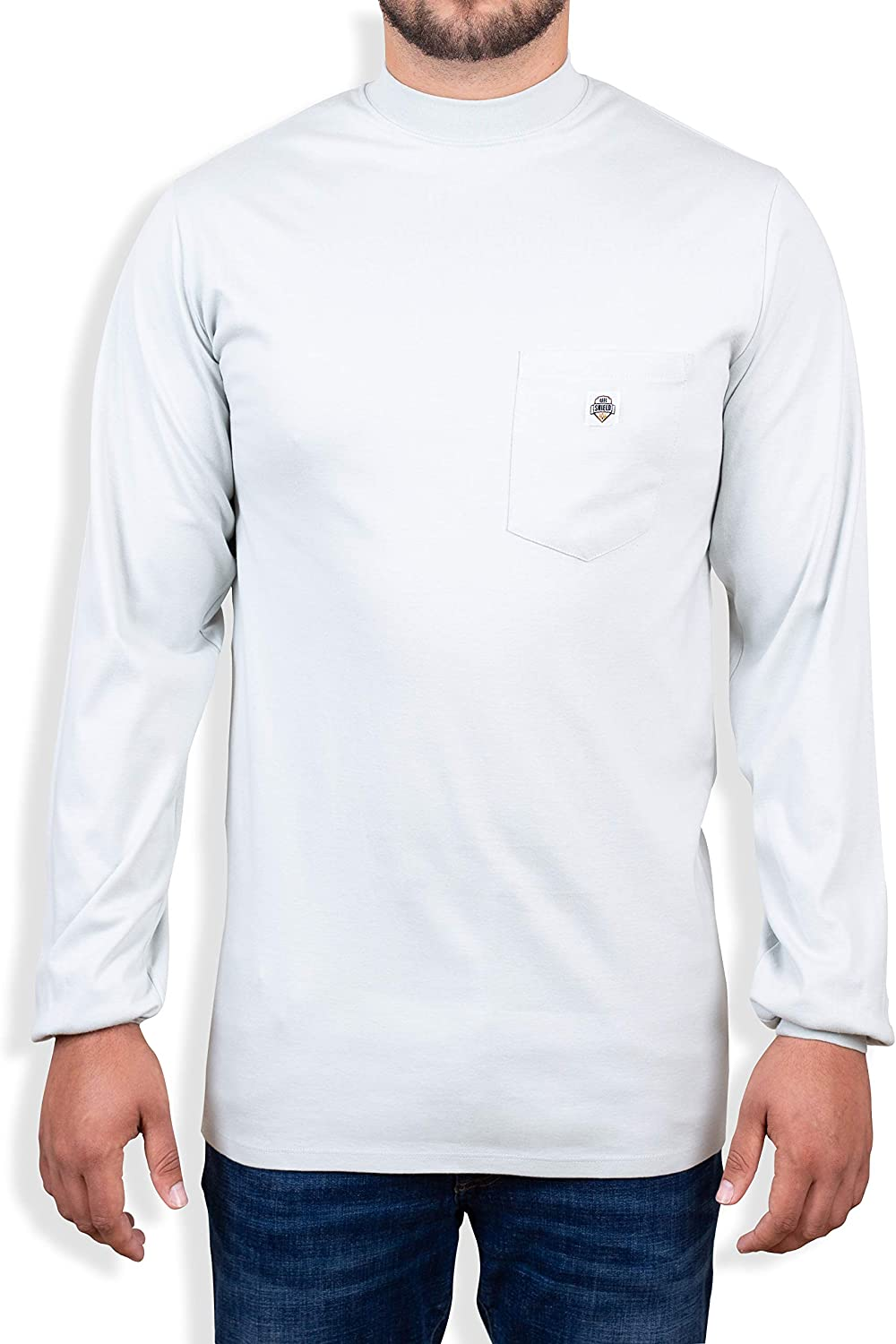 Limited price sale Ur Shield Fire Resistant 7 oz. Cotton FR Long NEW before selling ☆ - T-Shirt Sleeve T