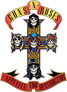 Guns N Roses Iron On Transfer for T-Shirts & Other Light Color Fabrics #5