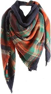 Best blue tartan scarf zara Reviews