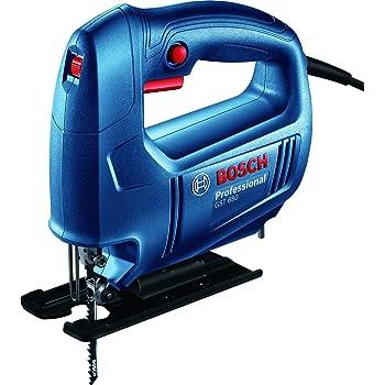 Bosch 06015A80F0 GST 650 Professional Jigsaw, Blue