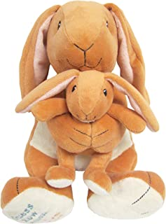 Guess How Much I Love You Big Nutbrown Hare and Little Nutbrown Hare  Musical Plush Waggie bc562aad06