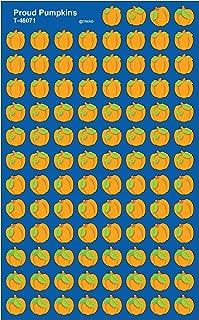 Trend Enterprises Proud Pumpkins Super Shapes Stickers (800 Piece), Multi