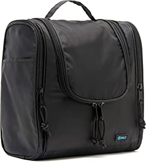 Hanging Travel Toiletry Bag for Women and Men - Large Hygiene Bag for Full-Size Beauty Products - Ripstop Nylon Boasts Hea...