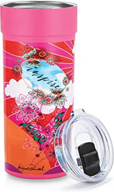 Ozark Insulated Travel Mug with Original Artwork by Miguel Paredes   Stainless Steel Thermos, Vacuum Insulated for Hot &