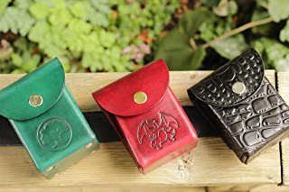 Personalized/Custom Engraving for Leather Products sold by Leather Deck Box, including Deck Boxes