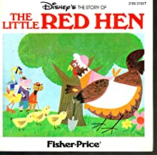 Disney's The Story of the Little Red Hen - Book and Record