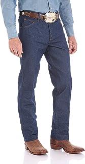 Wrangler - Jeans da uomo con taglio da cowboy, vestibilità regolare