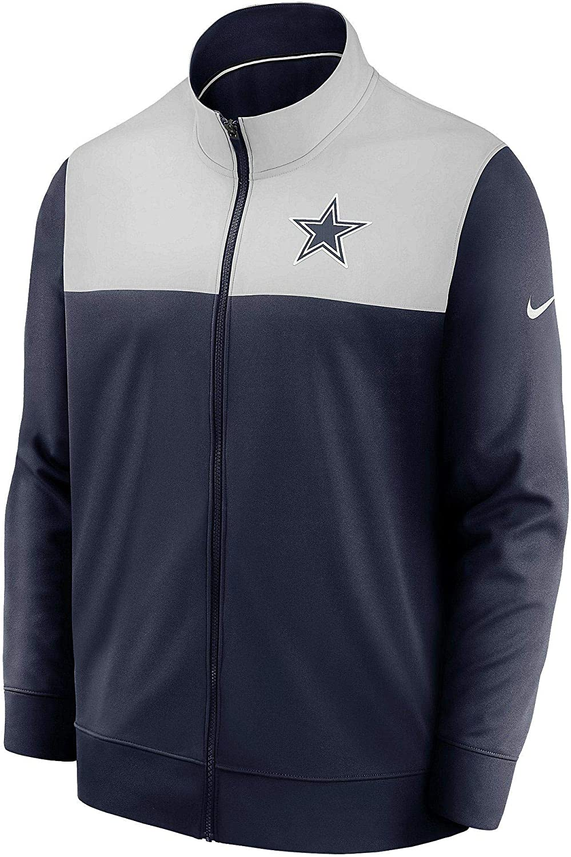 Dallas 67% OFF of fixed price Cowboys Men's Nike Long Jacket Sleeve Logo Genuine