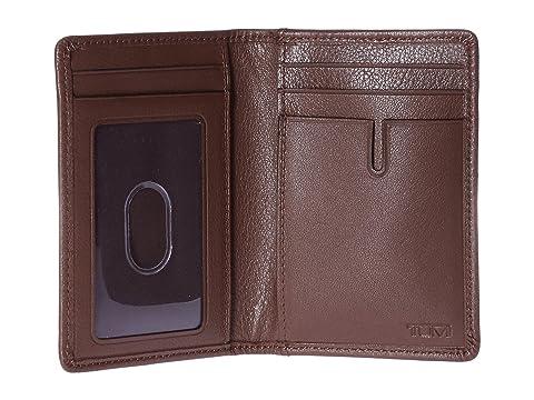 con textura Nassau Tumi con tarjetas marrón Estuche para múltiples ventanas qEPE6Zz