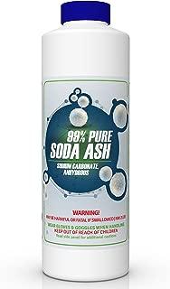 99% Pure SODA ASH (Sodium Carbonate Anhydrous, Washing Soda) (2 lb)