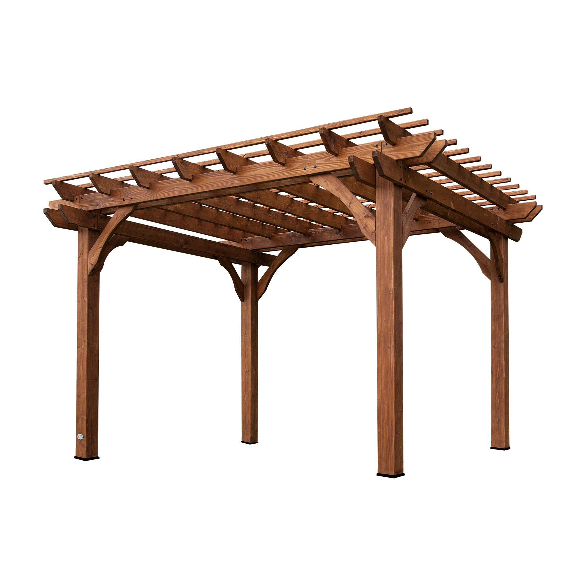 Backyard Discovery Cedar Pergola 12\u0027 by ...  sc 1 st  Amazon.com : patio cover kits - amorenlinea.org