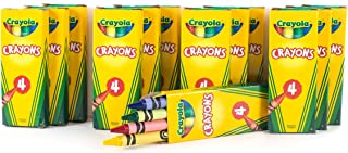 12 Boxes Crayola 4-ct. Crayon Party Favor Pack Colors