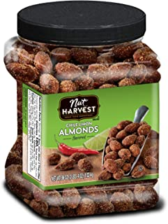 Nut Harvest Almonds, Chile Lime, 36 Ounce