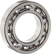 WJB 6208 Deep Groove Ball Bearing, Open, Metric, 40mm ID, 80mm OD, 18mm Width, 6550lbf Dynamic Load Capacity, 4000lbf Static Load Capacity