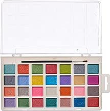 Darice Studio 71 Pearlescent Watercolor Pan Set: 28 Colors