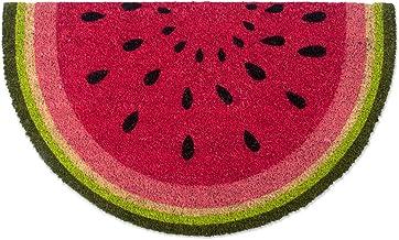 DII Natural Coir Fiber, 18x30 Entry Way Outdoor Door Mat with Non Slip Backing -Watermelon