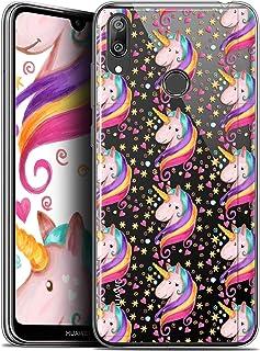 Case for 6.26 Inch Huawei Y7/Prime/Pro 2019, Ultra Slim Fantasia Unicorn Star Design