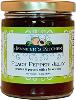 Jennifer's Kitchen Pepper Jelly, Peach