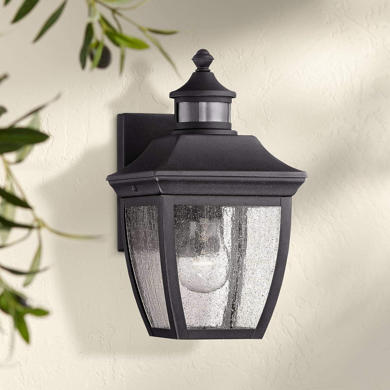 Beaufort Outdoor Cheap SALE Start Wall Light Fixture Glass Black Direct stock discount 12