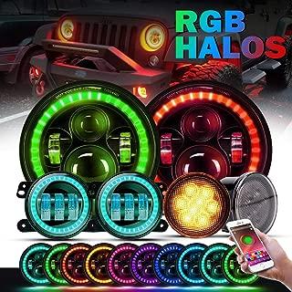 Best jeep wrangler blue halo headlights Reviews