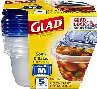 GladWare Soup & Salad-5 ct