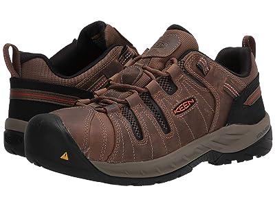 Keen Utility Flint II (Steel Toe) (Shitake/Rust) Men