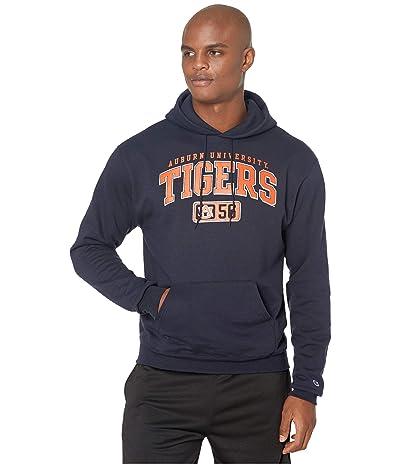 Champion College Auburn Tigers Eco(r) Powerblend(r) Hoodie (Navy 2) Men
