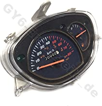 SPEEDOMETER GAUGE ASSEMBLY 50CC 139 QMA/QMB GY6 4-STROKE CHINESE SCOOTER MOPED REX ROKETA JONWAY TANK JCL BAJA BMS PEACE BAOTIAN TAOTAO BMS VENTO VIP SUNL ZNEN JONWAY KAZUMA BENZHOU YIBEN ETC.