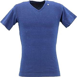 [SWEEP!! LosAngeles スウィープ ロサンゼルス] メンズ コットン 半袖 VネックTシャツ V-NECK SWINVNK-100 INDIGO(インディゴ)