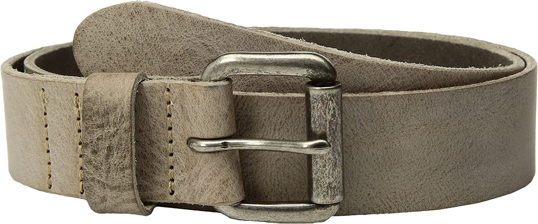Amsterdam Heritage Leather Belt 40009 Grey belt