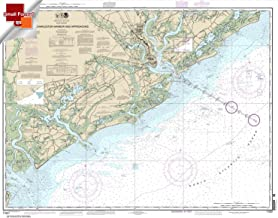 Paradise Cay Publications NOAA Chart 11521: Charleston Harbor and Approaches 21.00 x 26.71 (SMALL FORMAT WATERPROOF)