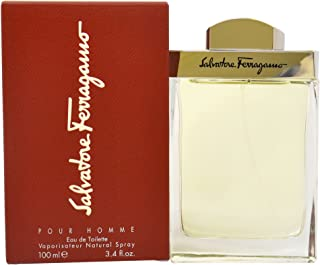 Salvatore Ferragamo By Salvatore Ferragamo For Men. Eau De Toilette Spray 3.4 Ounces