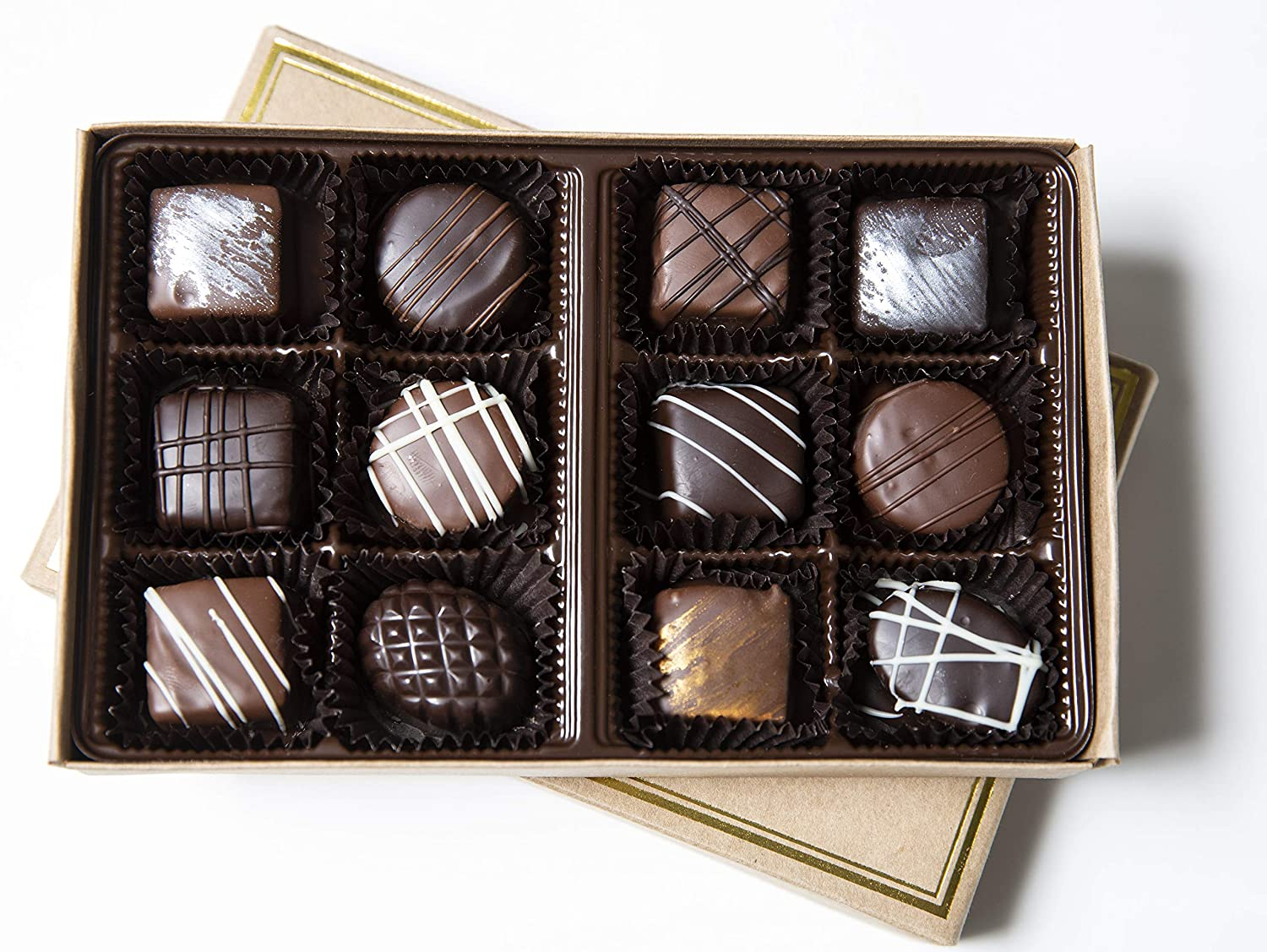Chocolate Truffles by Cheap mail order Year-end annual account shopping Cocoa Chocolatier Mill Covered