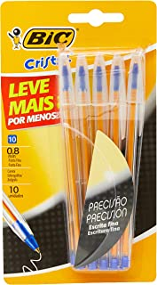 Caneta Esferográfica, BIC 904260, Azul, Pacote de 10