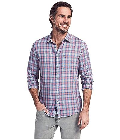 Faherty Cloud Cotton Everyday Shirt (Summerland Plaid) Men
