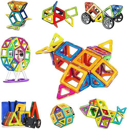 SVOC 93-teiliges magnetisches Spielzeug, Bausteine, Bausteine, Bausteine, für Kreativit und Bildung