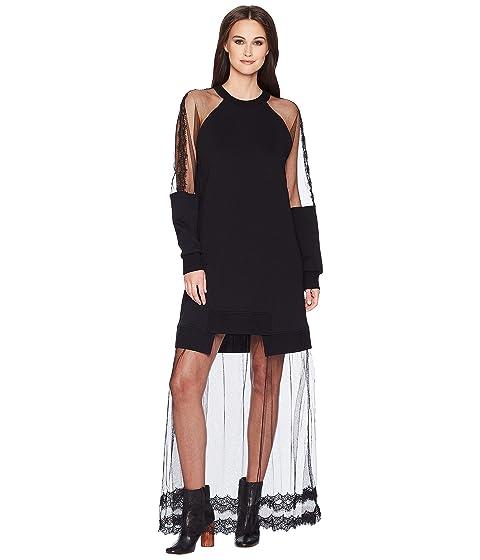 McQ Hybrid Long Dress