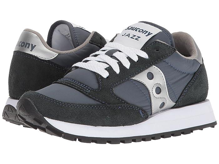 Saucony Jazz Original Navy & Silver Sneakers