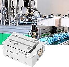 Cilindro de mesa deslizante, cilindro pneumático de ar MXH16, robô de máquina de embalagem para a indústria de processamen...