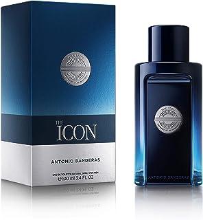Antonio Banderas Perfumes -The Icon - اسپری ادکلن مردانه ، کهربا وودی ، عطر صندل - 1.7 Fl Oz