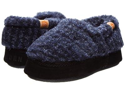 Acorn Kids Acorn Moc (Toddler/Little Kid/Big Kid) (Blue Check) Boy