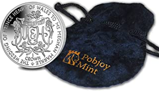 British Pobjoy Mint: Royal Wedding of Prince Henry of Wales to Ms Meghan Markle - 2018 Uncirculated Copper Nickel Coin