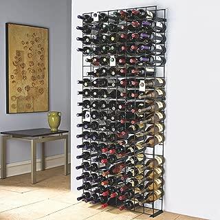 metal grid wine rack